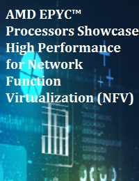 AMD EPYC™ PROCESSORS SHOWCASE HIGH PERFORMANCE FOR NETWORK FUNCTION VIRTUALIZATION (NFV)
