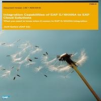 INTEGRATION CAPABILITIES OF SAP S/4HANA TO SAP CLOUD SOLUTIONS