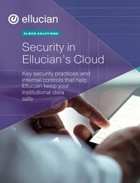 SECURITY IN ELLUCIAN'S CLOUD