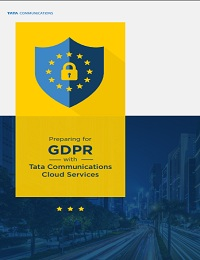 PREPARING FOR GDPR WITH TATA COMMUNICATIONS CLOUD SERVICES