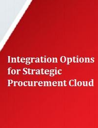 INTEGRATION OPTIONS FOR STRATEGIC PROCUREMENT CLOUD