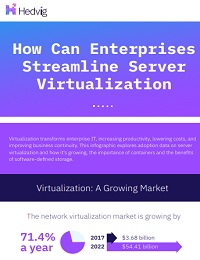 HOW ORGANIZATIONS ARE STREAMLINING SERVER VIRTUALIZATION